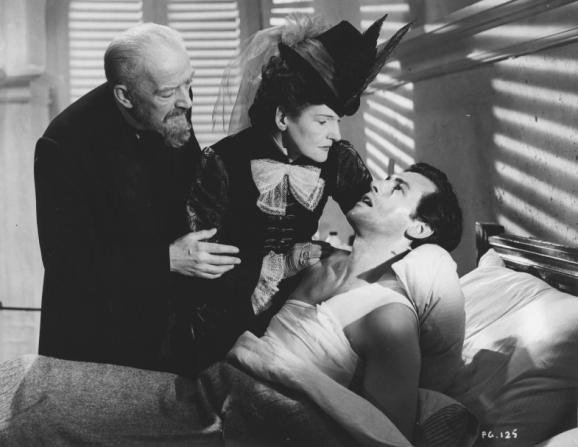 Stewart Granger, Cathleen Nesbitt, Guy Lefeuvre