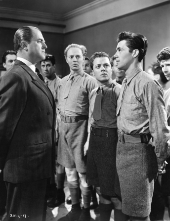 Jack Warner, Dirk Bogarde, Richard Attenborough, Jimmy Hanley, Andrew Crawford