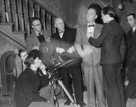 John Boulting, Harry Waxman, William Hartnell, Richard Attenborough