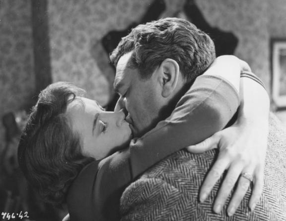 Phyllis Calvert, Jack Hawkins