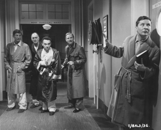 Terence Longdon, Cyril Chamberlain, Kenneth Connor, Leslie Phillips, Kenneth Williams