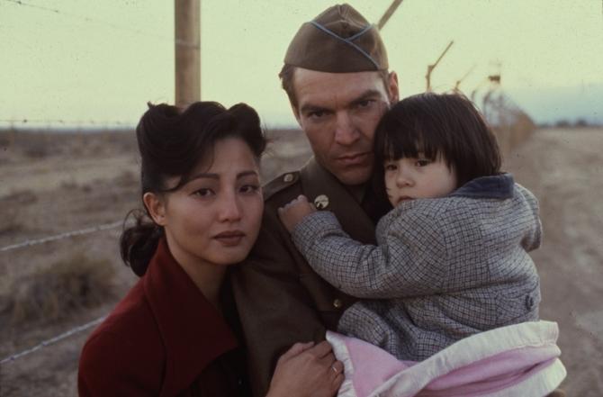 Elizabeth Gilliam, Dennis Quaid, Tamlyn Tomita