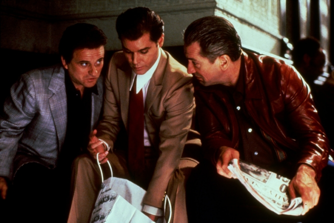 Robert De Niro, Joe Pesci, Ray Liotta