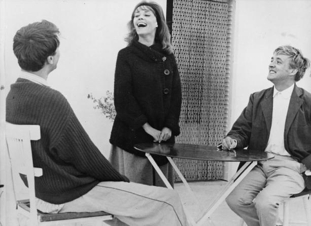 Henri Serre, Jeanne Moreau, Oskar Werner