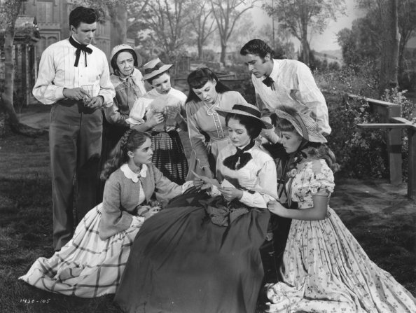Peter Lawford, Richard Wyler, Elizabeth Patterson, Margaret O'Brien, June Allyson, Janet Leigh, Mary Astor, Elizabeth Taylor