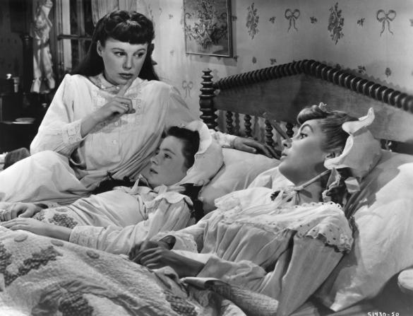 June Allyson, Margaret O'Brien, Elizabeth Taylor