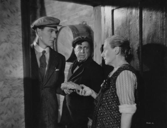 Michael Redgrave, Edward Rigby, Nancy Price