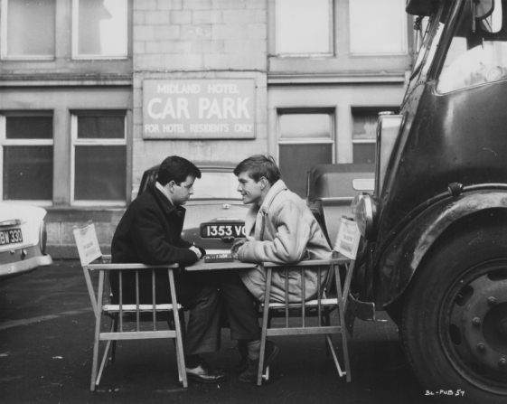 Rodney Bewes, Tom Courtenay