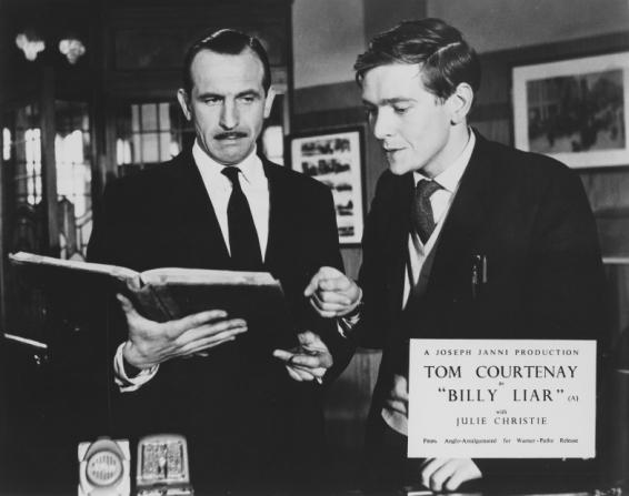 Leonard Rossiter, Tom Courtenay