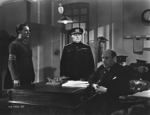 Richard Burton, Victor Fairley, Cedric Hardwicke