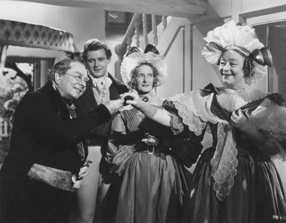 Roddy Hughes, Mary Merrall, Athene Seyler