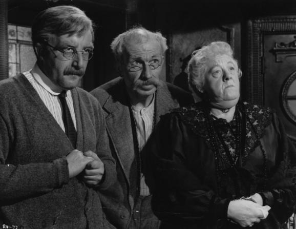Peter Sellers, Bernard Miles, Margaret Rutherford