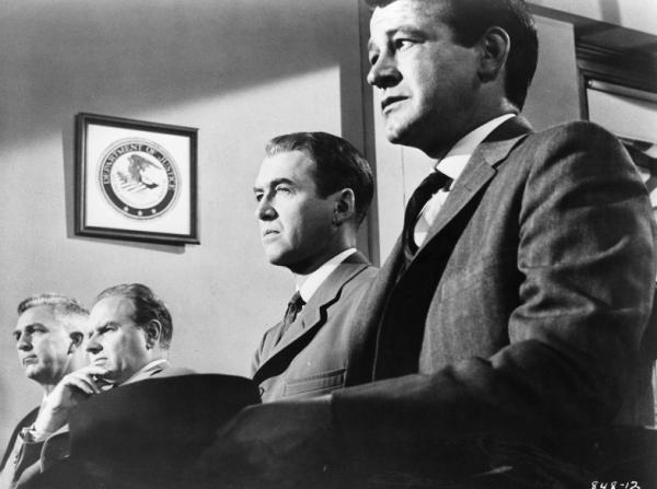 Murray Hamilton, James Stewart