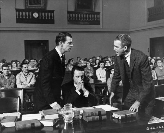 George C. Scott, James Stewart, Brooks West