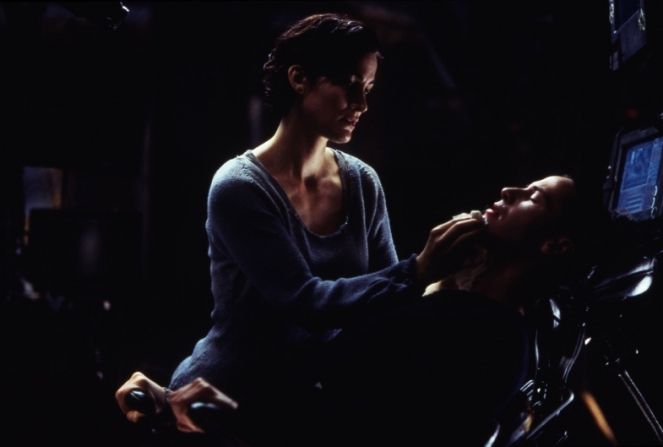Carrie-Anne Moss, Keanu Reeves