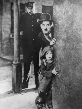 Charles Chaplin, Jackie Coogan, Tom Wilson