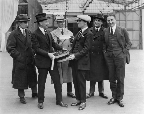 Charles Chaplin, Alfred Reeves, Sydney Chaplin