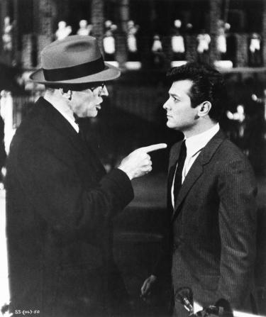 Burt Lancaster, Tony Curtis
