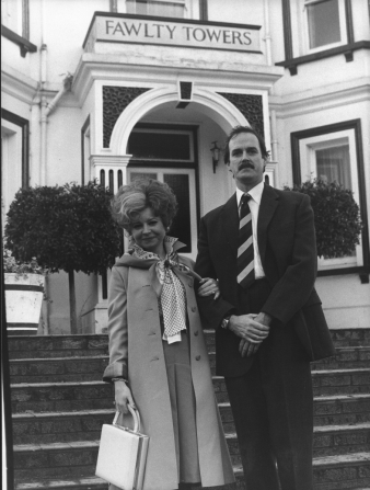 Prunella Scales, John Cleese