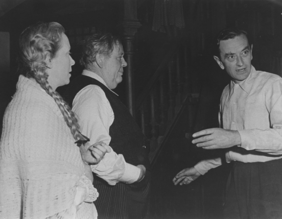 David Lean, Charles Laughton, Brenda De Banzie