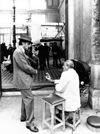 Dirk Bogarde, Luchino Visconti