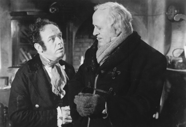 Mervyn Johns, Alastair Sim