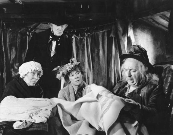 Kathleen Harrison, Miles Malleson, Ernest Thesiger