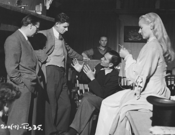 George Pollock, Guy Green, David Lean, Ann Todd