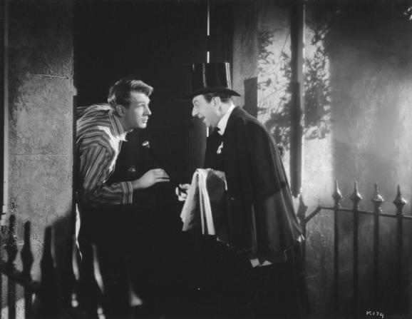 Michael Redgrave, Arthur Riscoe