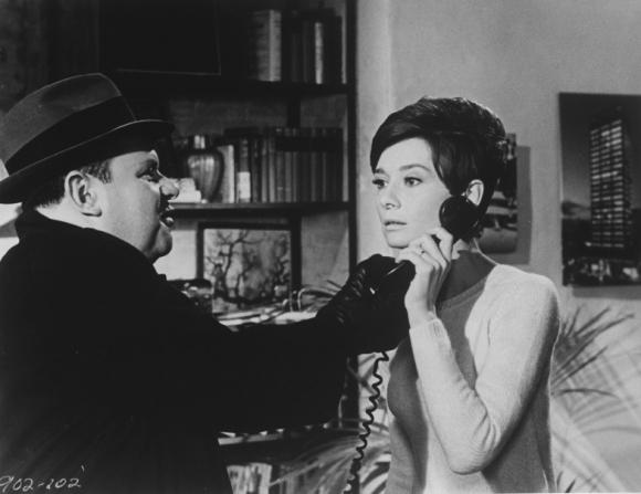 Jack Weston, Audrey Hepburn