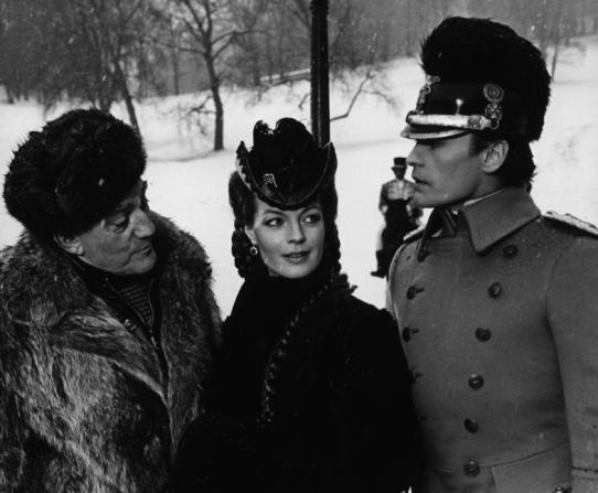 Luchino Visconti, Romy Schneider, Helmut Berger