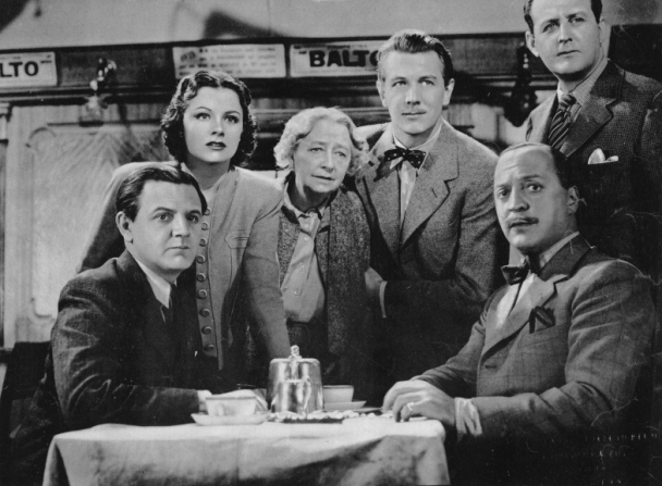 Naunton Wayne, Margaret Lockwood, Dame May Whitty, Michael Redgrave, Basil Radford, Cecil Parker