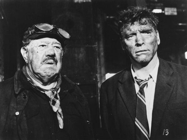 Michel Simon, Burt Lancaster