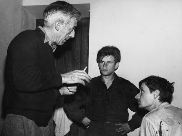 Robert Bresson, Charles Le Clainche, François Leterrier
