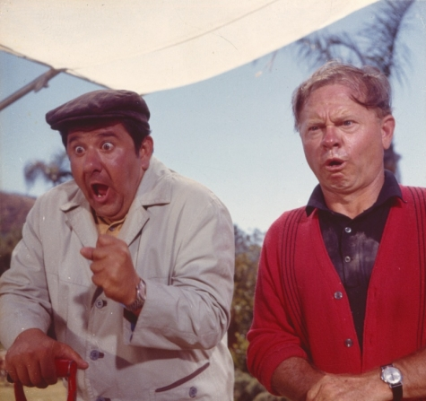 Buddy Hackett, Mickey Rooney