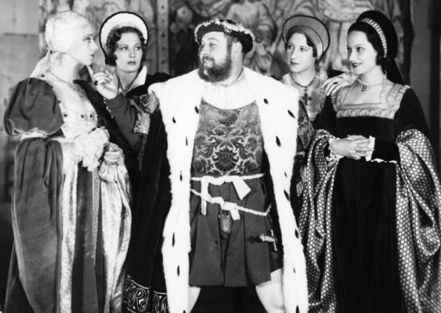 Elsa Lanchester, Binnie Barnes, Charles Laughton, Merle Oberon