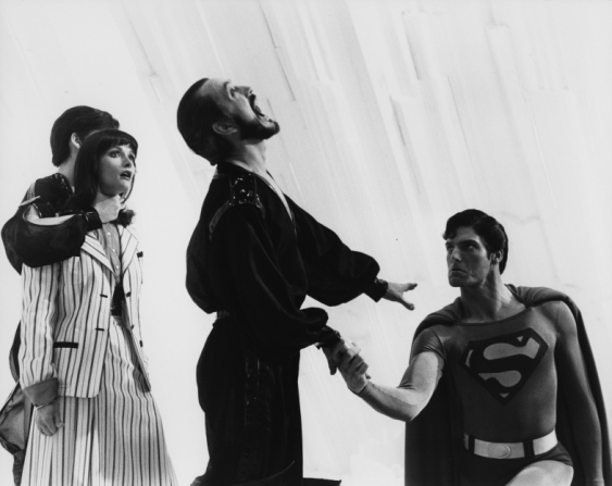 Christopher Reeve, Margot Kidder, Terence Stamp