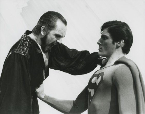 Terence Stamp, Christopher Reeve