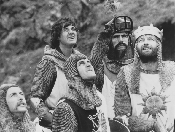 Graham Chapman, Eric Idle, Michael Palin, John Cleese, Terry Jones