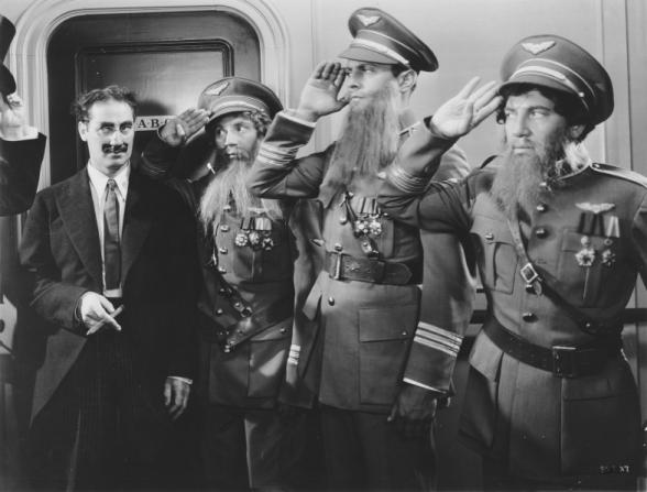 Groucho Marx, Harpo Marx, Chico Marx