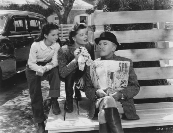 Virginia Weidler, Katharine Hepburn, Roland Young