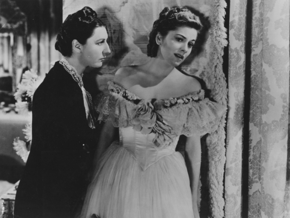 Judith Anderson, Joan Fontaine