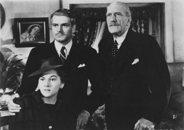 Joan Fontaine, Laurence Olivier, C. Aubrey Smith