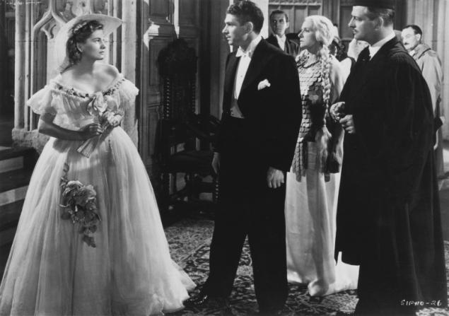 Joan Fontaine, Laurence Olivier, Gladys Cooper, Reginald Denny