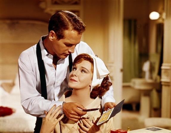 Paul Newman, Geraldine Page