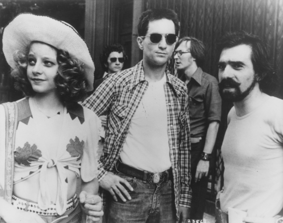 Martin Scorsese, Robert De Niro, Jodie Foster