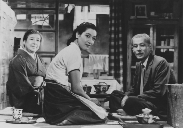 Chieko Higashiyama, Setsuko Hara, Chishu Ryu