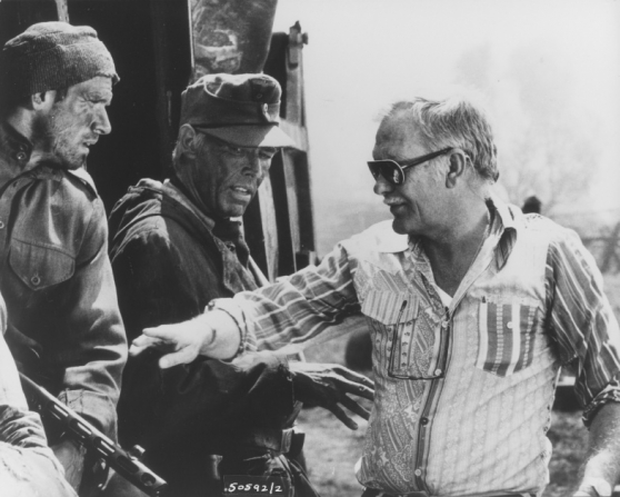 Klaus Löwitsch, James Coburn, Sam Peckinpah