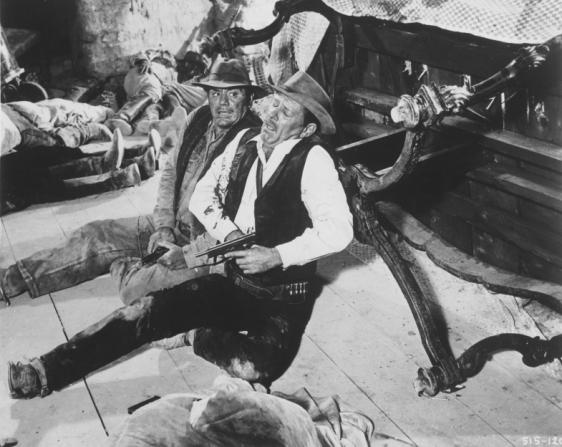 Ernest Borgnine, William Holden