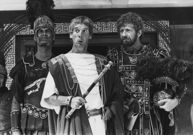 Michael Palin, Graham Chapman, John Cleese